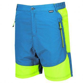"""<p class=""""caption"""">Sehr leichte Herren-Short mit elastischen Einsätzen, gesehen bei Panto Outdoor um 29,99 Euro.</p>"""