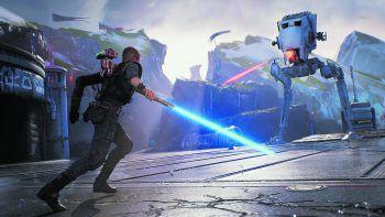 """Star Wars: Jedi Fallen OrderRespawn Entertainment und EA zeigten erstes Gameplay vom heiß erwarteten Star Wars-Action-Game """"Jedi Fallen Order"""". Das Spiel basiert auf der Unreal Engine 4 und erinnert bislang stark an das sehr erfolgreiche """"The Force Unleashed""""."""