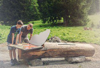 """<p class=""""title"""">               Tierwelten-Weg Brandnertal              </p><p>Wie leben Murmeltiere und wie gut sieht ein Adler? Der Tierwelten-Weg Brandnertal widmet sich der artenreichen Tierwelt der Alpen. Start ist bei der Bergstation der Dorfbahn. Von dort führt er vorbei an der Inneren Parpfienzalpe hoch zum Niggenkopf und zur Palüdbahn. Der Weg kann auch in entgegengesetzter Richtung und damit perfekt im Anschluss an den Natursprünge-Weg gelaufen werden.</p>"""