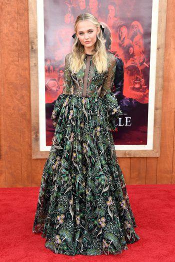 """Westwood. Elegant: Die Schauspielerin Madison Iseman nimmt an der Welt-premiere des Films """"Annabelle Comes Home"""" teil."""
