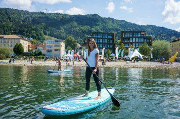 "<p class=""caption"">Am 24. und 25. August dreht sich alles um den SUP-Sport an der Pipeline Bregenz.</p>"