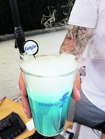 faigle Lehrlinge kreieren den GENERATION f Drink.