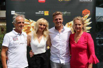 """<p class=""""caption"""">Familie Schwarzhans: Ernst, Nicole Scheffknecht, Stefan und Ingelore.</p><p class=""""caption"""" />"""