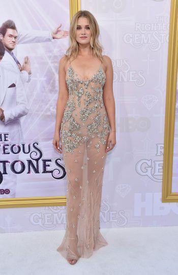 """Los Angeles. Transparent: Schauspielerin Virginia Gardner bei der Premiere der neuen Serie """"The Righteous Gemstones"""". Fotos: AFP, AP, APA, Reuters"""