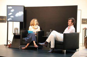 Raffaela Rudigier-Gerer führte das Interview mit Stefan Sagmeister.