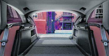 """<p class=""""title"""">               Stauraum             </p><p>Das Raumkonzept ist bis ins Detail durchdacht: vom hoch-wertigen Ambiente bis zum eindrucksvollen Gepäckraum. Bei umgeklappter Rücksitzlehne beträgt der gesamte Stauraum maximal 1510 Liter.</p>"""