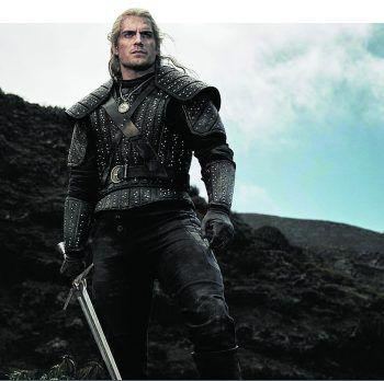 """Superman""-Darsteller Henry Cavill spielt den Hexer Geralt von Riva. Foto: Netflix"