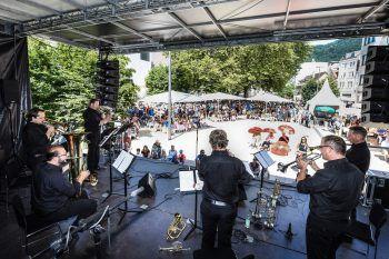 """<p class=""""caption"""">Verschiedene Ensembles spielen am Sonntag in Bregenz auf. Foto: Udo Mittelberger</p>"""