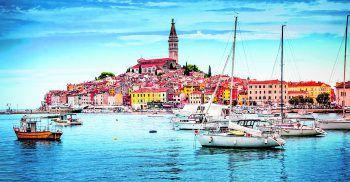 Das schöne, bunte Hafenstädtchen Rovinj ist ein Highlight in Kroatien.Fotos: handout/High Life Reisen