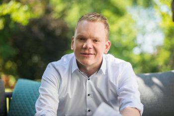 """FPÖ-Landesobmann Christof Bitschi kritisiert die """"schwarz-grüne Kontrolle""""."""