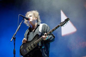 "<p>Paris. Legendär: Robert Smith, Sänger der Band ""The Cure"" beim Rock-en-Seine-Festival.</p>"