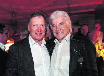 """<p class=""""caption"""">Ski-Legenden unter sich: Franz Klammer und Willi Mathies.</p>"""