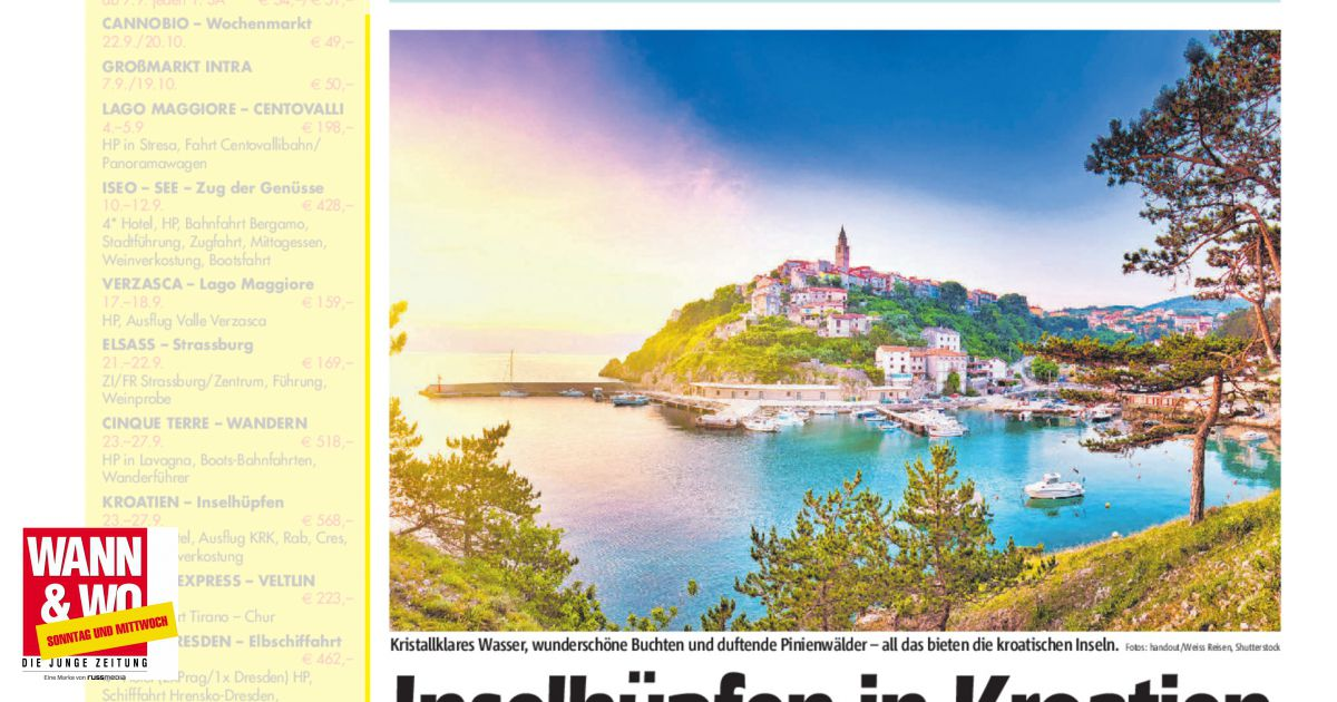 Inselhüpfen in Kroatien - Wann & Wo