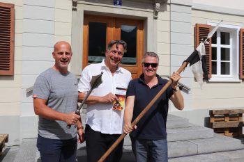 "<p class=""caption"">WIGE-Montafon Team: Christian Zver, Christof van Dellen und Reinhard Wachter.</p><p class=""caption"" />"