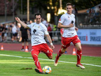 Zählt zu den echten Stützen des FC Dornbirn: Kapitän Aaron Kircher.Foto: GEPA