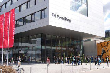Neben der Pädagogischen Hochschule in Feldkirch, Schloss Hofen und dem Landeskonservatorium wird auch die FH Vorarlberg ein Mitglied der Internationalen Bodensee-Hochschule (IBH) sein. Foto: FH Vorarlberg