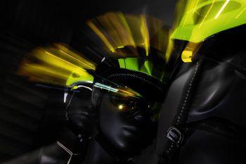 """<p class=""""caption"""">Die neuesten Trends in Sachen Helm und Beleuchtung gibt es auf der Eurobike.</p>"""