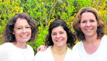 Doris, Anna und Kerstin geben wertvolle Tipps rund ums Familienleben. Foto: handout/D'Errico