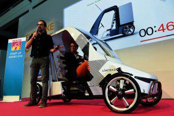 """<p class=""""caption"""">Innovationen auf der Eurobike.</p>"""