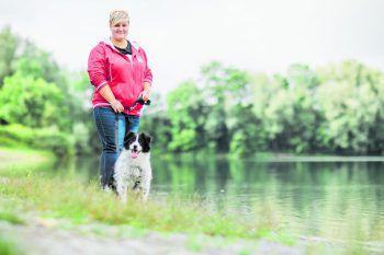 Janine und Samy kommen seit zehn Jahren an den Rüttener See. Probleme hatten sie nie. Foto: Sams
