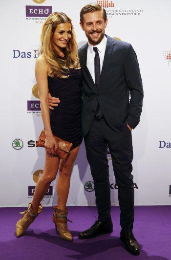 Klaas Heufer-Umlauf und seine Partnerin Doris Golpashin. Foto: Reuters