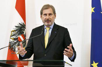Neuer Job für Johannes Hahn.Foto: APA