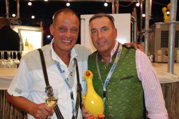 Organisatoren Markus Gartner und Markus Mistura.