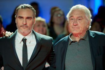"""<p>Toronto. Legendär: Joaquin Phoenix und Robert De Niro erscheinen zur Premiere von """"Joker"""" beim Toronto International Film Festival.</p>"""