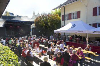 Der Rankweiler Hof lädt ein zum gemütlichen Beisammensein und bester Musik.