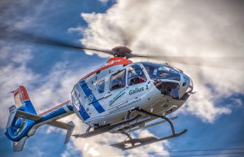Der Mann wurde mit dem Rettungshubschrauber geborgen. Foto: Bergrettung Vorarlberg