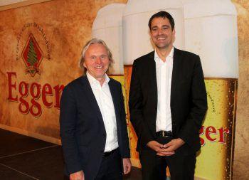 """<p class=""""caption"""">Die Geschäftsführer der Brauerei Egg Hubert Berkmann und Lukas Dorner.</p><p class=""""caption"""" />"""