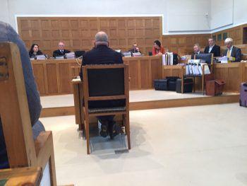 Gestern war Tag fünf des Prozesses am Landesgericht Feldkirch. Foto: Sohm