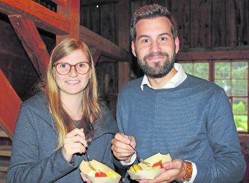 Sarah Kessler und Simon Tschann. Foto Alpenregion Bludenz Tourismus GmbH / Stefanie Peiker