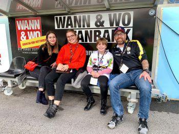 Mit etwas Glück wird die WANN & WO-Fanbank bald wieder gefüllt.Foto: Franz Lutz/W&W