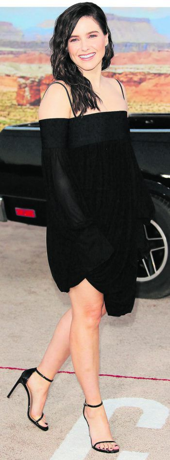 "Westwood. Gut gelaunt: Sophia Bush nimmt an der Premiere des ""Breaking Bad""-Films ""El Camino"" teil."
