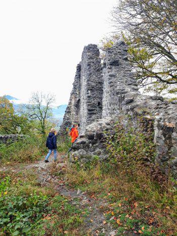 Abenteuer Burgruine.Foto: handout/D'Errico