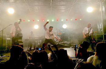 Auch live sorgen The Monroes immer für besten Rock 'n' Roll-Sound.