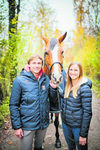 Christian und Katharina Rhomberg sind als Springreiter sehr erfolgreich.