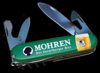 """<p class=""""caption"""">Das Mohren Taschenmesser von """"Victorinox"""" gibt es für 45 Euro im Mohren-Lädele.</p>"""