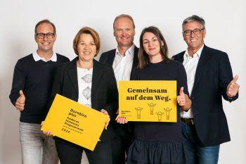 Dieter Egger, Andrea Kaufmann, Guido Flatz, Bettina Steindl und Wolfgang Matt.