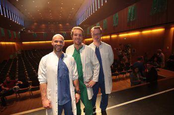 "<p class=""caption"">Dominik Klug, Lukas Wagner und Benni Warmuth.</p><p class=""caption"" />"