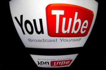 Ein Passus in den Nutzungsbedingungen von YouTube sorgt für Aufregung.Foto: AFP