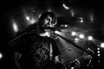 Fallen Up-Gitarrist und Background-sänger Lukas Dür gibt einen Einblick in seinen Musik-geschmack. Foto: handout/privat