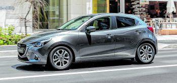 """<p class=""""caption"""">Gut gerüstet: Der Mazda 2 bietet sehr viele Sicherheitsassistenten.</p>"""