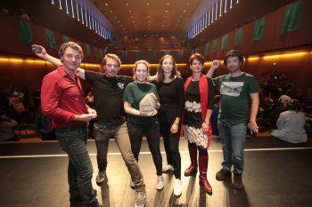 Herbert Kessler, Lasse Samström, Katharina Laimer, Elena Illing, Susanne Dertinger und Alexander Loibnegger.