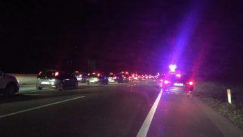 In den Unfall im Bereich Wolfurt waren mehrere Fahrzeuge involviert. Foto: VOL.AT
