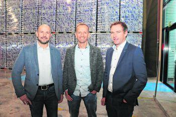 "<p class=""caption"">Martin Nicolussi, Andreas Vaschauner und Wolfgang Rigo.</p>"
