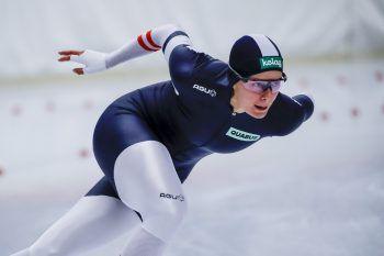 Verpatzter Saisonstart von Eisschnellläuferin Vanessa Herzog.Foto: GEPA