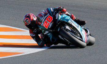 Yamaha-Jungstar Fabio Quartararo holte die letzte Pole der Saison.Foto: Reuters