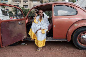 <p>Addis Abeba. Ungewöhnlich: In Äthiopien findet das erste, dortige VW-Käfer-Festival statt.</p>